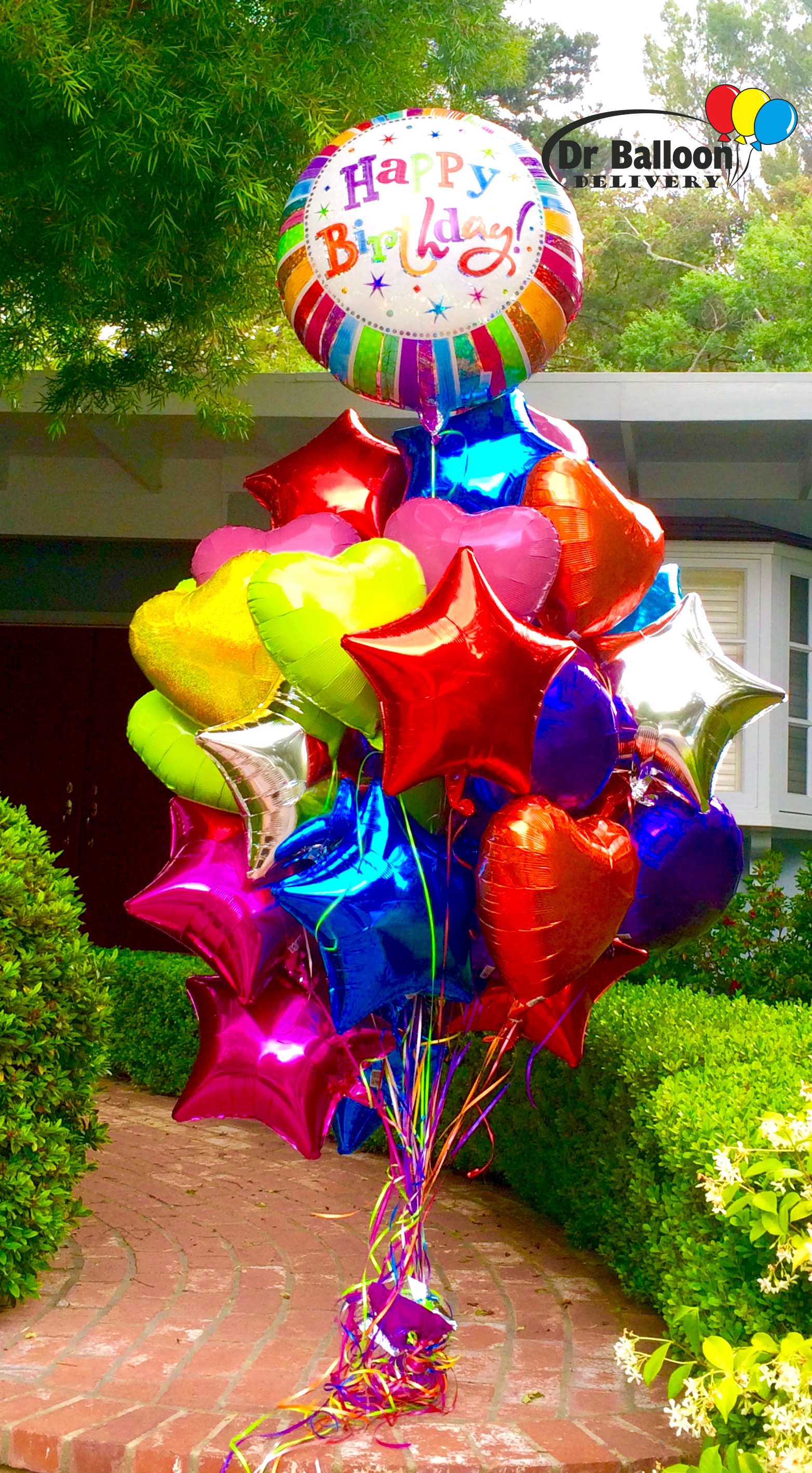 1 Balloon Delivery La 310 215 0700 Los Angeles Bouquets